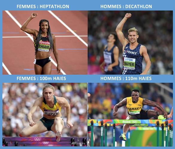 Sept épreuves combinées au lieu de dix, 100m haies et non 110… Les femmes athlètes doivent-elles vraiment en faire moins que les hommes?